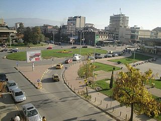 Town in Polog, North Macedonia