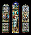 Stained glass windows of the church of Our Lady of the Purification of Cassaniouze 02.jpg