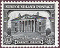 Stamp Newfoundland 1928 20c Colonial Building.jpg