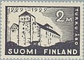 Stamp of Finland - 1929 - Colnect 45787 - 1 - 700th Anniversary of Turku - wmk Post Horn type w.jpeg