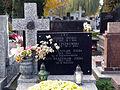 Stanislaw Zieba - Wladyslaw Zieba - Cmentarz na Sluzewie przy ul Renety (1).JPG