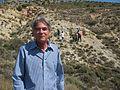 Stanley Finney. Aalenian GSSP - Fuentelsaz, Guadalajara, Spain - July 2016.jpg