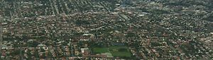 Stanmore, New South Wales - Aerial view of the suburb