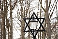 Star of David in the Jewish cemetery in Karlskrona.jpg