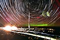 Star trail and aurora over Mount Wellington, Tasmania.jpg
