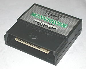 Starhawk (1979 video game) - A Starhawk game cartridge for the Vectrex game system