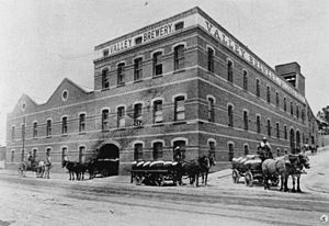 Queensland Brewery Ltd - Queensland Brewery in Fortitude Valley, Brisbane, Queensland, 1908