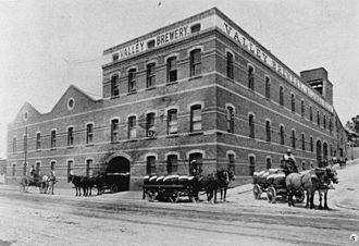 Queensland Brewery Ltd - Queensland Brewery in Fortitude Valley, Brisbane, Queensland, 1908