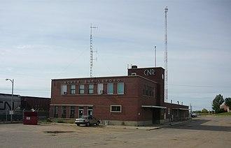 North Battleford station - Image: Station North Battleford Saskatchewan