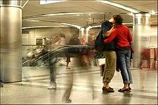 Station Saint Lazare - Paris (Long exposure).JPG