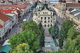Old Town, Košice - Central area of Košice Old Town (Staré Mesto)