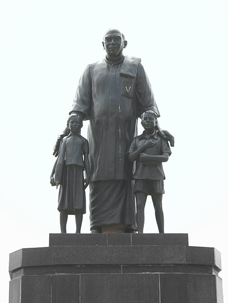 File:Statue of Kamarajar.jpg