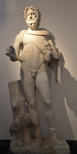 Statue of Silvanus, god of woods and wild fields, Ny Carlsberg Glyptotek, Copenhagen (15725189801)