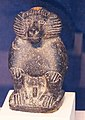 Statuette of a baboon (Thoth) produced after 1070 BCE Diorite Egypt Penn Museum.jpg