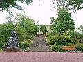 Staty av Maria Alexandrovna i Mariehamn för Stadhuset i Mariehamn.jpg