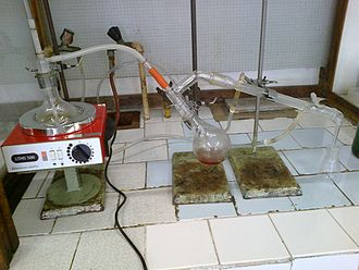 Steam distillation - Steam distillation apparatus