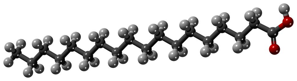 Stearic-acid-3D-Balls