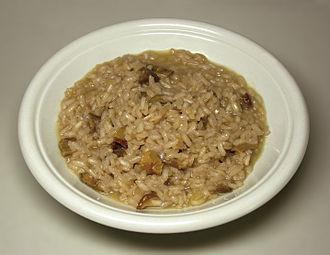 Italian-American cuisine - Risotto