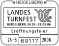 Stempel 69117 Heidelberg - Landesturnfest 2006.png