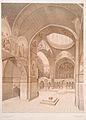 Stennaia zhivopis' v Sionskom sobore , v Tiflise, ispolnennaia v 1853-1854 g. Obshchii vid vnutrennosti sobora.jpg