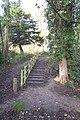 Steps to the Test Range - geograph.org.uk - 1613137.jpg