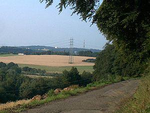 Bochum Observatory - Sternwarte Bochum (View from Hattingen)
