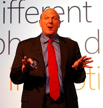 Steve Ballmer - Steve Ballmer at Mobile World Congress 2010.