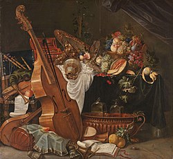 Johann Friedrich Gruber: Still life