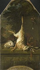 Still Life with Dead Hare and Partridges