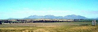 Stirling Range - Stirling Range from the north