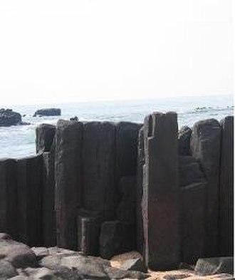 Mangalorean Catholics - St Mary's Islands in Udupi, where the Portuguese explorer Vasco da Gama landed in 1498