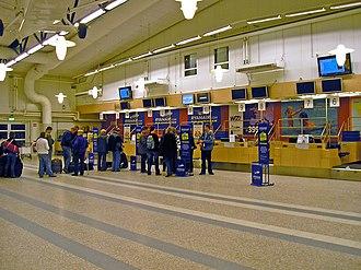 Stockholm Skavsta Airport - Check-in hall