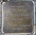 Stolperstein Bayernallee 19a (Weste) Walter Loeb-Ullmann.jpg