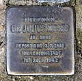 Stolperstein Bundesratufer 9 (Moabi) Julius Moses.jpg