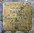 Stolperstein Motzstr 83 (Wilmd) Ela Lapis.jpg