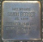 Stolperstein Munich Simon Berger.jpg