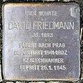 Stolperstein Paderborner Str 9 (Wilmd) David Friedmann.jpg