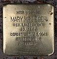 Stolperstein Westfälische Str 31 (Halsee) Mary Krueger.jpg