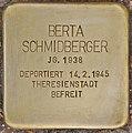 Stolperstein für Berta Schmidberger (Salzburg).jpg