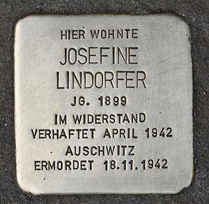 Stolperstein für Josefine Lindorfer.JPG
