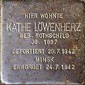 Stolpersteine Köln, Käthe Löwenherz (Klettenberggürtel 57).jpg