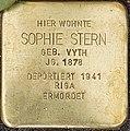 Stolpersteine Kalkar Markt 12; Sophie Stern.jpg