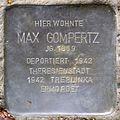 Stolpersteine Krefeld, Max Gompertz (Uerdinger Straße 412).jpg