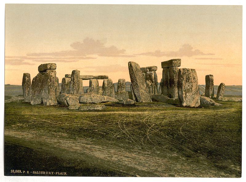 File:Stonehenge, near Salisbury, England-LCCN2002708089.jpg