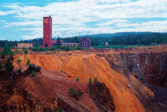 Christopher Polhem - Falun copper mine as it looks today.