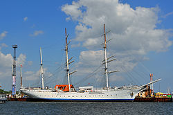 Gorch Fock (I) in Stralsund