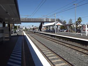 Strathpine Railway Station, Queensland, Aug 2012.JPG