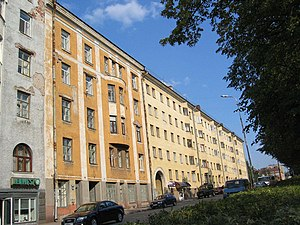 Karelian question - Many Finnish era buildings remain in Vyborg.