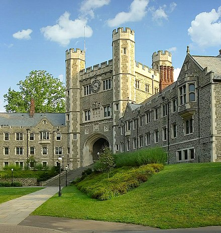 Blair Hall, The Western Portion Of Which Is Part Of Mathey College