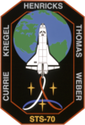 Sts-70-patch.png